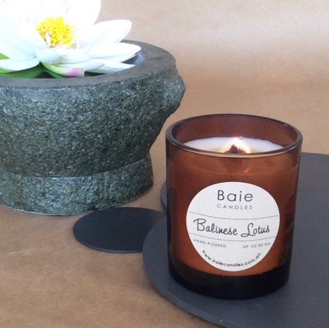 Baie Candles Balinese Lotus