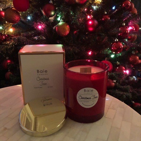 Baie Candles Christmas Tree