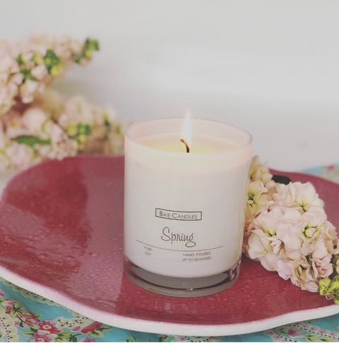 Baie Candles Spring candle