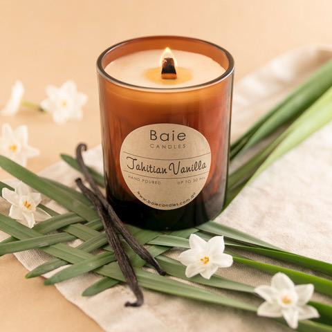 Baie Candles Tahitian Vanilla