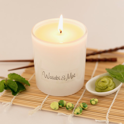 Baie Candles Wasabi & Mint