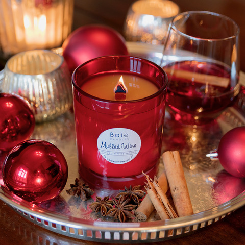 The most stunning Christmas candle - a beautiful blend of cinnamon, clove and nutmeg with a twist of citrus. Available to order all year!