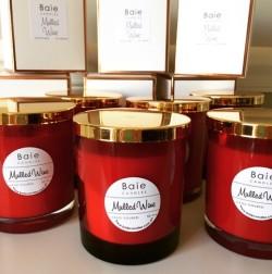 Baie Candles Christmas range