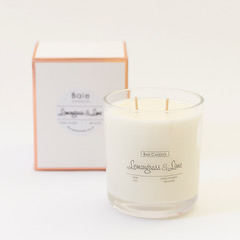 Stunning 100 hour candle with double wicks. Always made to order - choose your favourite fragrance for the ultimate candle!