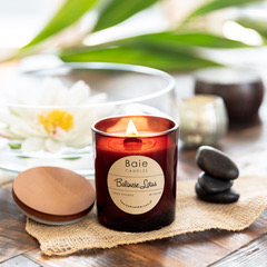 A truly zen like fragrance that is subtle and sublime. This candle is gentle and is truly relaxing and calming and perfect for mindfulness.